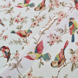 Cath Kidston Home Furnishing Fabric British Birds in Pastel