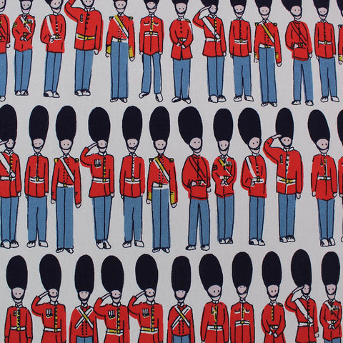 Cath Kidston Home Furnishing Fabric - London Guards