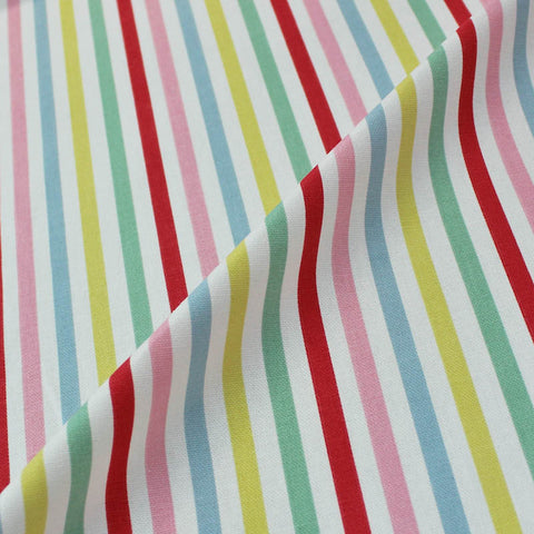 Cath Kidston Home Furnishing Fabric Mid Stripe  - Candy