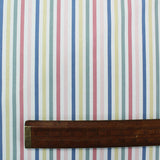 Cath Kidston Home Furnishing Fabric Mid Stripe  - Chalk