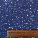 Constellations Woven Cotton - Blue