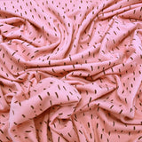 Cotton Elastane Jersey - Sugar Pink - Flying Commas