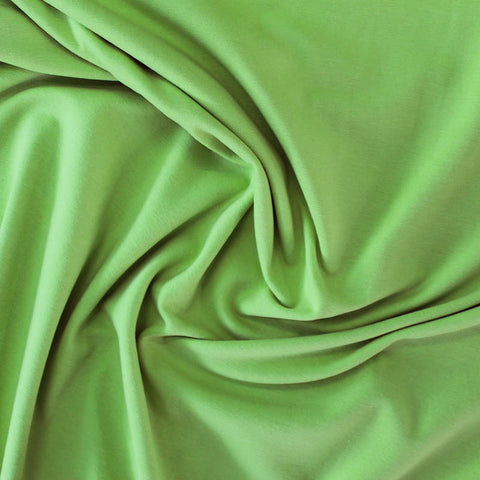 Cotton Elastane Jersey - Lawn Green