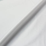 Cotton Sateen - Curtain Lining - White