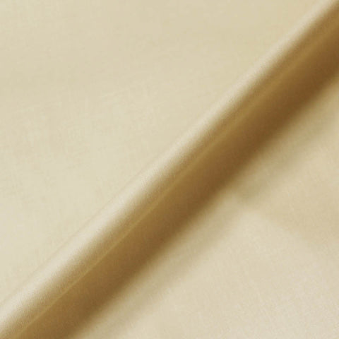 Cotton Sateen - Curtain Lining - Cream