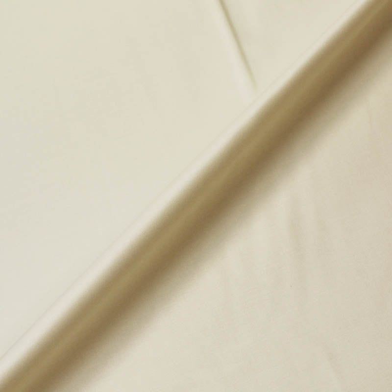 Cotton Sateen - Curtain Lining - Ivory
