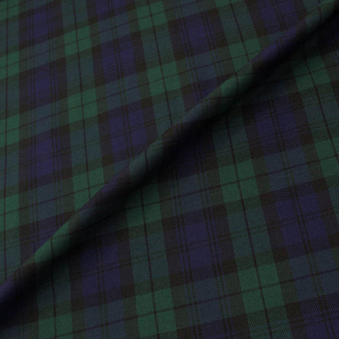 Tartan - Viscose and Polyester - Black Watch