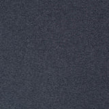 1x1 Circular Marl Cotton Elastane Ribbing - French Navy Blue