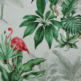 Digital Print Dralon Outdoor Fabric - Tropical Birds