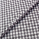 Dressmaking Cotton Gingham - Wide Width - Grey and White