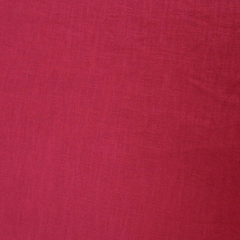 Dressmaking Washed Linen - Hunter Red