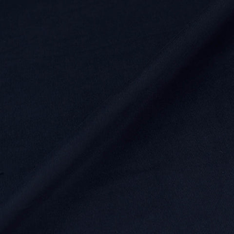 Cotton Needlecord - Darkest Navy