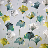 Ginkgo Leaf Home Furnishing Fabric - Greens