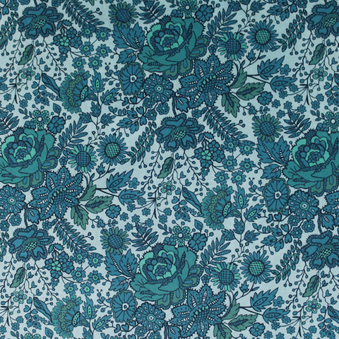 Liberty Cotton Lawn - Green - Nottingham