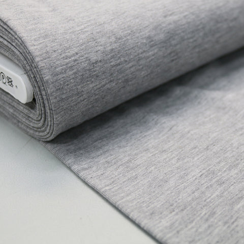 Cotton Elastane Jersey - Light Grey
