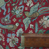Hampton Court Tapestry Red Home Furnishing Fabric