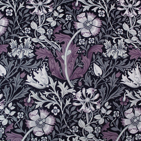 Home Furnishing Purple Velvet Fabric
