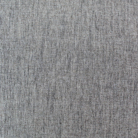 Home Furnishing Herringbone - 100% Polyester - Charcoal