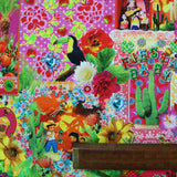 Cotton Panama Home Furnishing Fabric - Fiesta Baby
