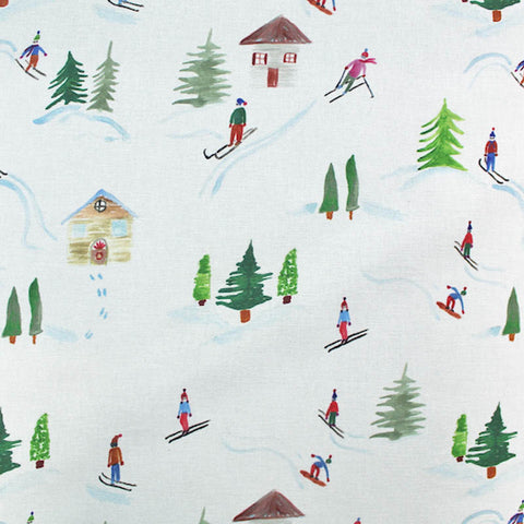 Furnishing Cotton Panama - Snow - Eddie