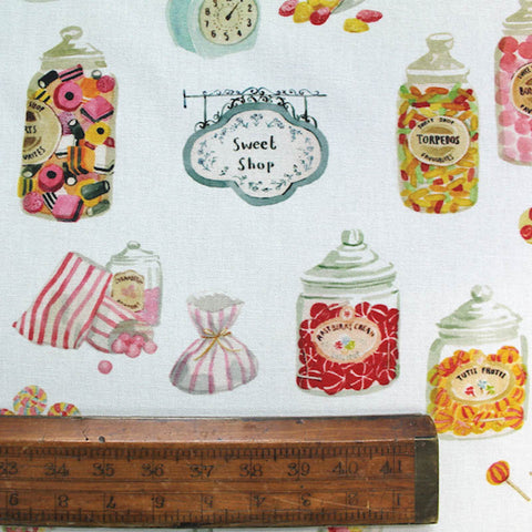 Home Furnishing Cotton Fabric - Sweet Shop