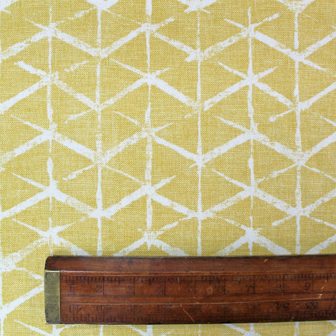 Home Furnishing - Yellow - Geometric Segments