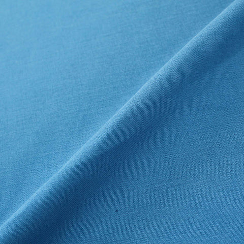 Home Furnishing Fabric Brushed Panama Weave - Bluejay