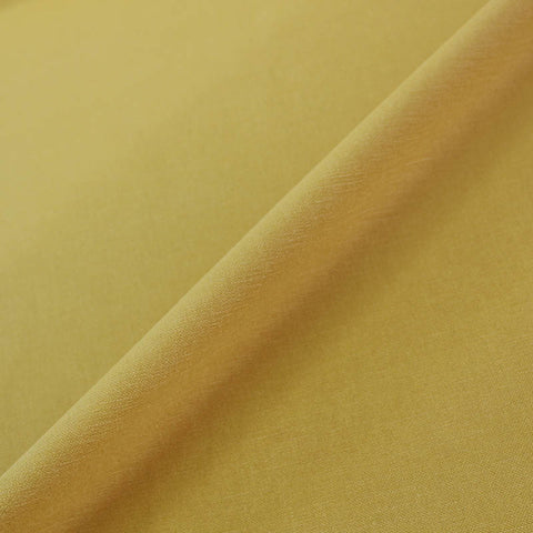 Home Furnishing Fabric Brushed Panama Weave - Chartreuse Yellow