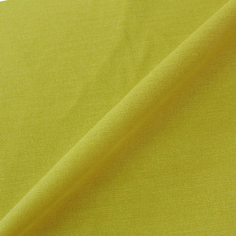 Home Furnishing Fabric Brushed Panama Weave - Citrus Yellow