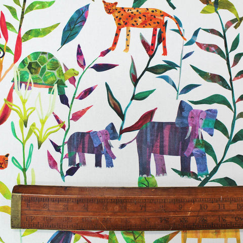 Home Furnishing Cotton Panama - Jungle Fun