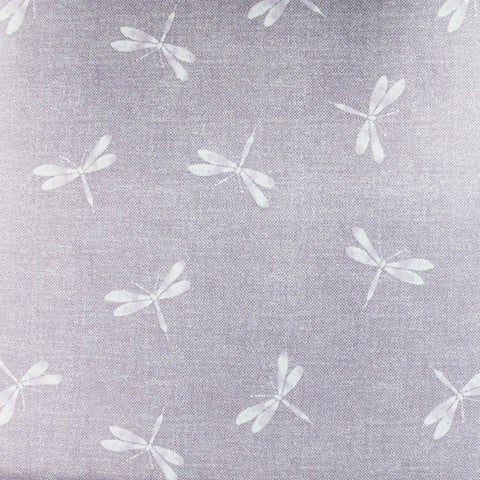 SPECIAL PURCHASE Home Furnishing Cotton Panama - Mauve - Dragon Fly
