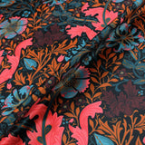 Home Furnishing Digital Print Velvet - Jazzy Floral