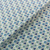 Liberty Cotton Tana Lawn - Cordelia - Blues and Green