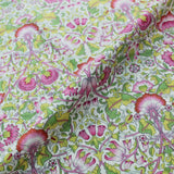 Liberty Cotton Tana Lawn - Lodden - Pinks and Green