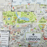 London Map Home Furnishing Fabric
