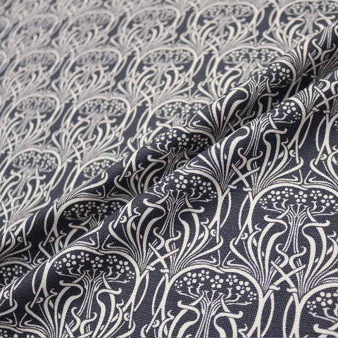 William Cotton Panama Home Furnishing Fabric - Grey