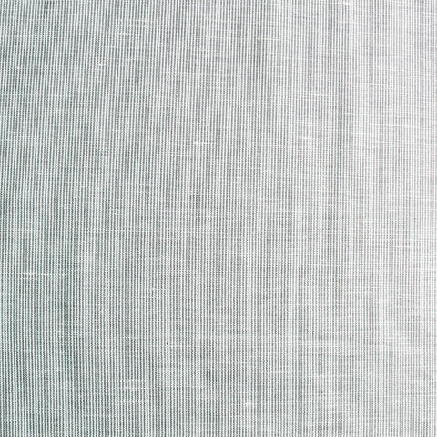 Mini Stripe Cotton Linen Fabric - Pale Grey