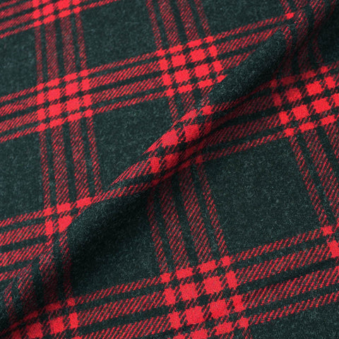 Wool Check - Red and Black