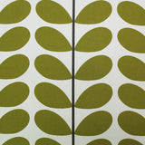 Orla Kiely Home Furnishing Fabric Two Colour Stem - Olive