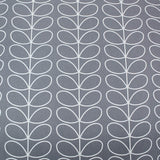 Orla Kiely Home Furnishing Fabric Linear Stem - Silver Grey