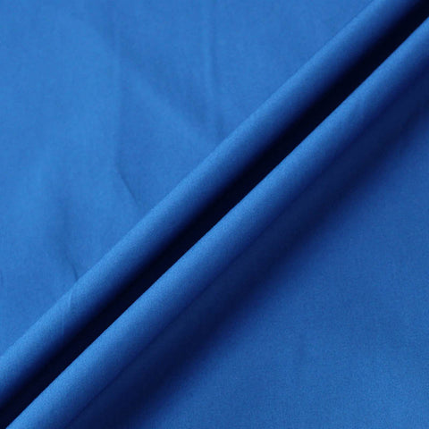 Plain Union Jack Blue Cotton Poplin