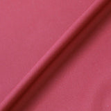 Claret Plain Red Cotton Poplin