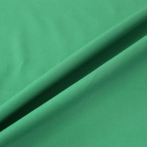 Plain Green Cotton Poplin - Courgette