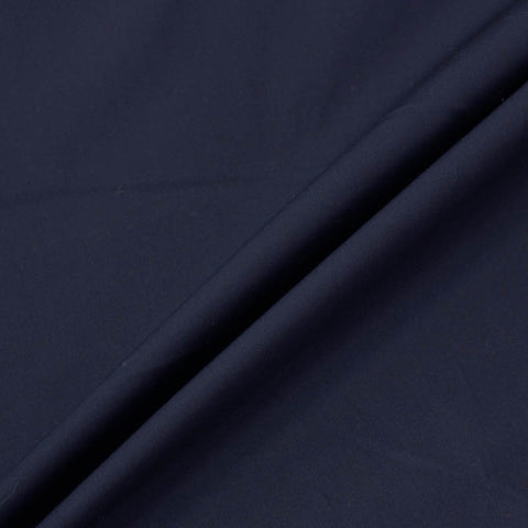 School Uniform Plain Dark Navy Blue Cotton Poplin