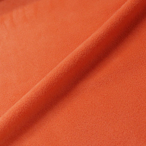 Polar Fleece -  Cheese Puff Orange