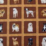 Printed Animal Cotton - Puppy Playtime Panel