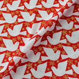 Printed Christmas Cotton - Had just settled our brains for a long winter's nap-