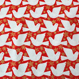 Printed Christmas Cotton - Had just settled our brains for a long winter's nap