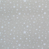 Printed Cream Christmas Cotton - Twinkle Twinkle Little Star