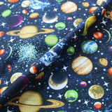 Cotton Quilting Fabric - Printed - The Whole Universe